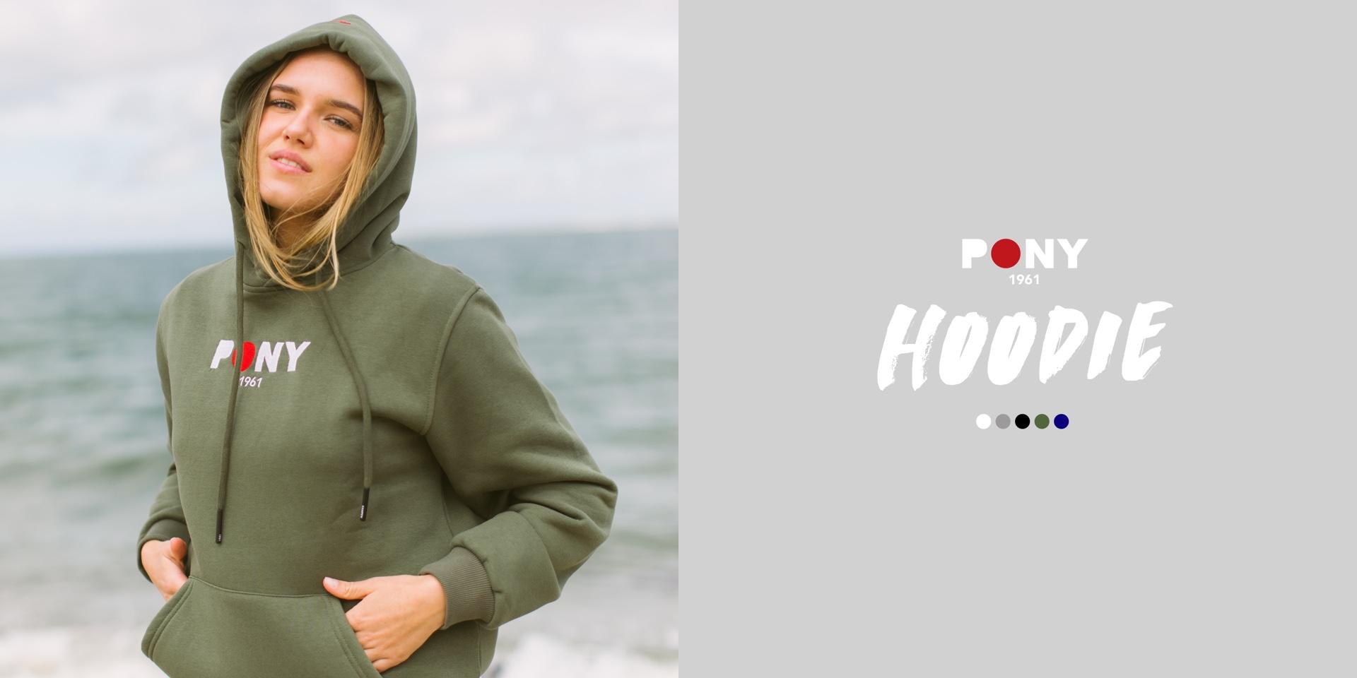 PONY Unisex Hoodie